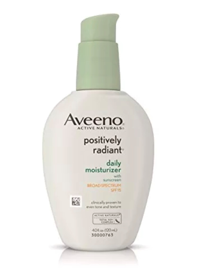 Aveeno Positively Radiant Daily Moisturizer 4 oz