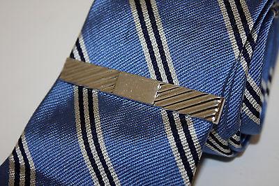 Swank Solid Sterling Silver 925 Mens Tie Bar Clip Vintage