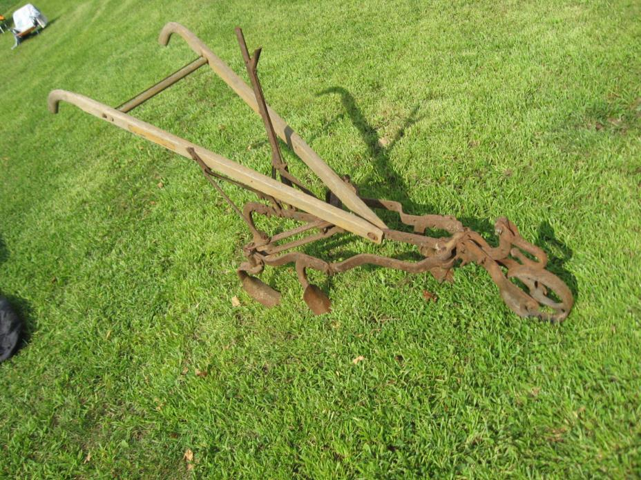 CULTIVATOR HORSE DRAWN GARDEN FARM NICE SHAPE