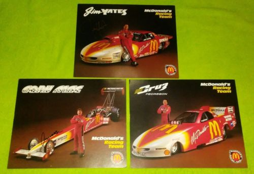 McDonalds Racing Team Signed Pictures