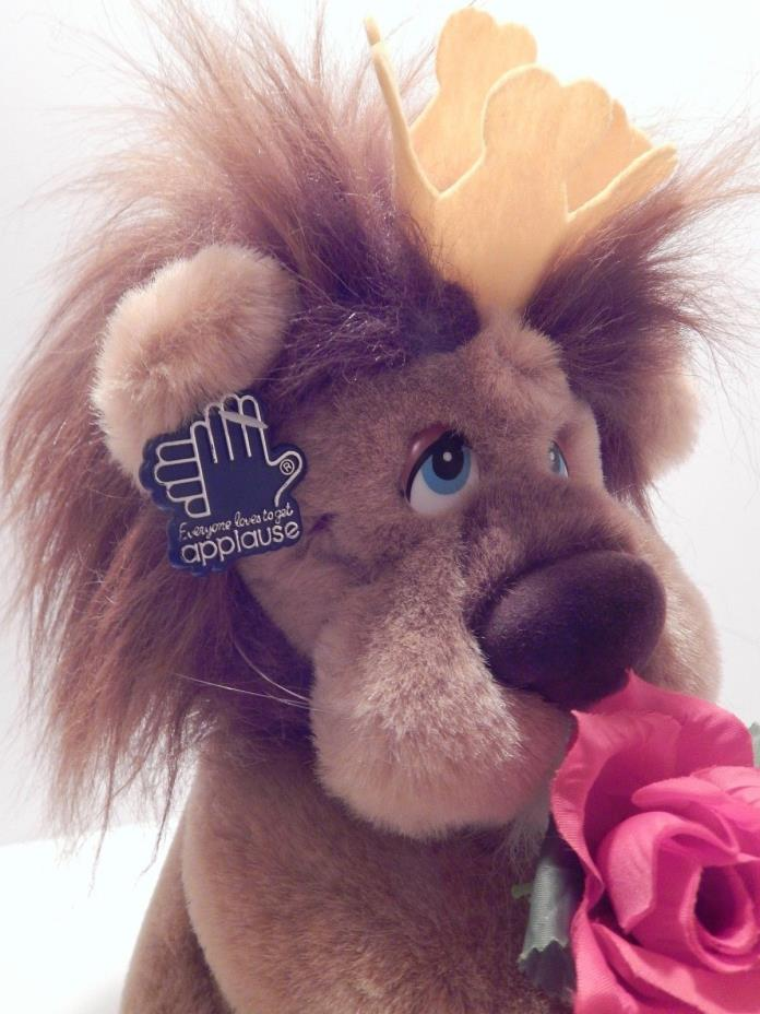 NEW NWT Applause Lionheart Lion Stuffed Animal Toy 8