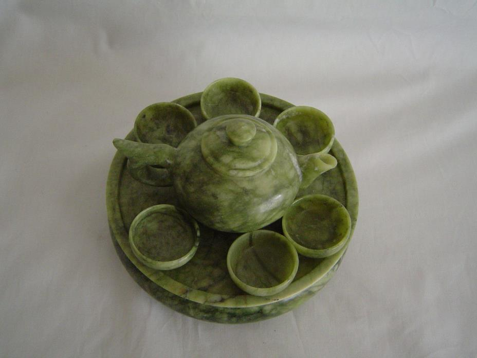 Jade Child's Tea Set