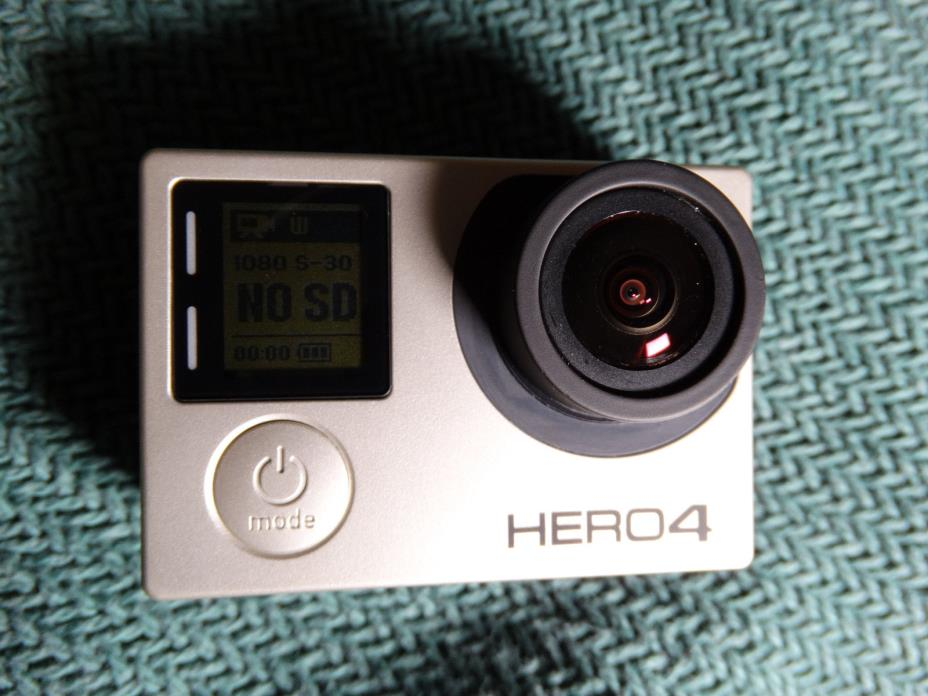 GoPro HERO4 Black 4K Ultra HD Action Camera Waterproof