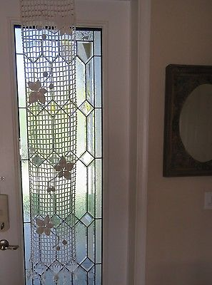 Vintage Runner Crochet Lace Fringe Antique French Table Scarf Window Curtain