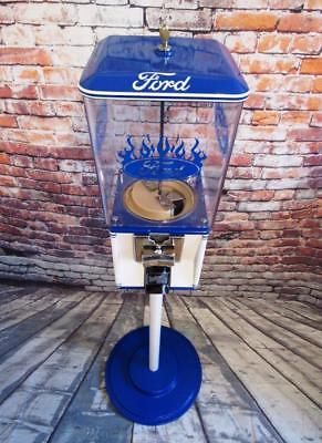 FORD vintage gumball machine candy machine coin-op game room accessories