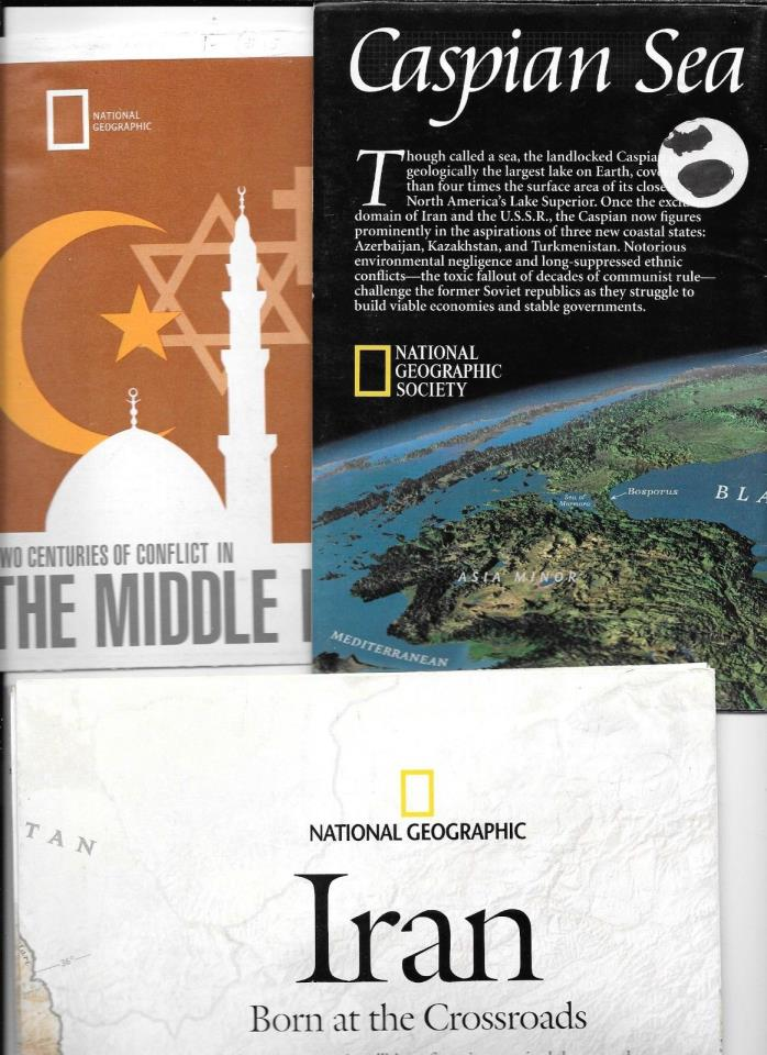 MAPS-NATIONAL GEOGRAPHIC- MIDDLE EAST ( 3 )