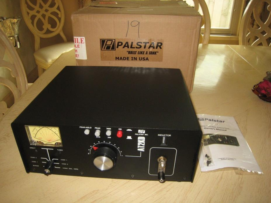 Palstar AT2KD 2KW Differential Antenna Tuner, 6-160M , Made in USA, Mint!