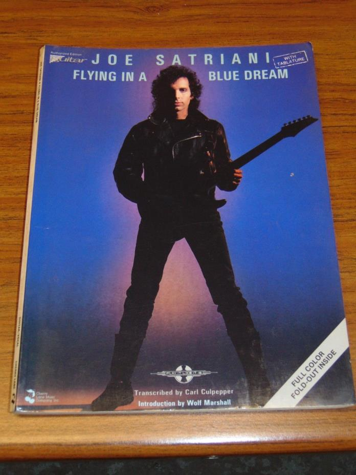 Joe Satriani Flying In A Blue Dream guitar tablature songbook