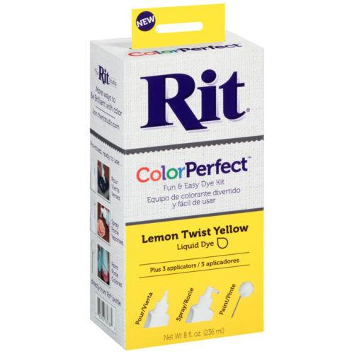 Rit ColorPerfect Dye Kit-Lemon Twist Yellow 85-787