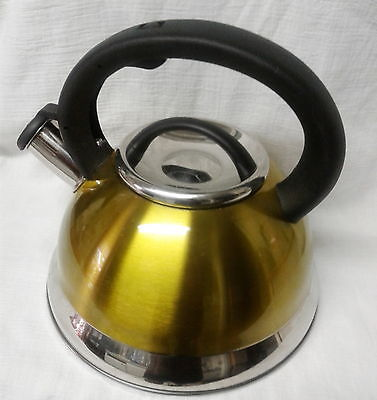 Creative Home Alexa Stainless Steel Whistling Tea Kettle Purple 3-Qt  913 bft