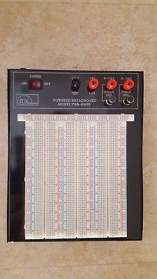 Sun Equipment PBB-4060B Breadboard, Powered, 2420 ties, for prototyping circuits