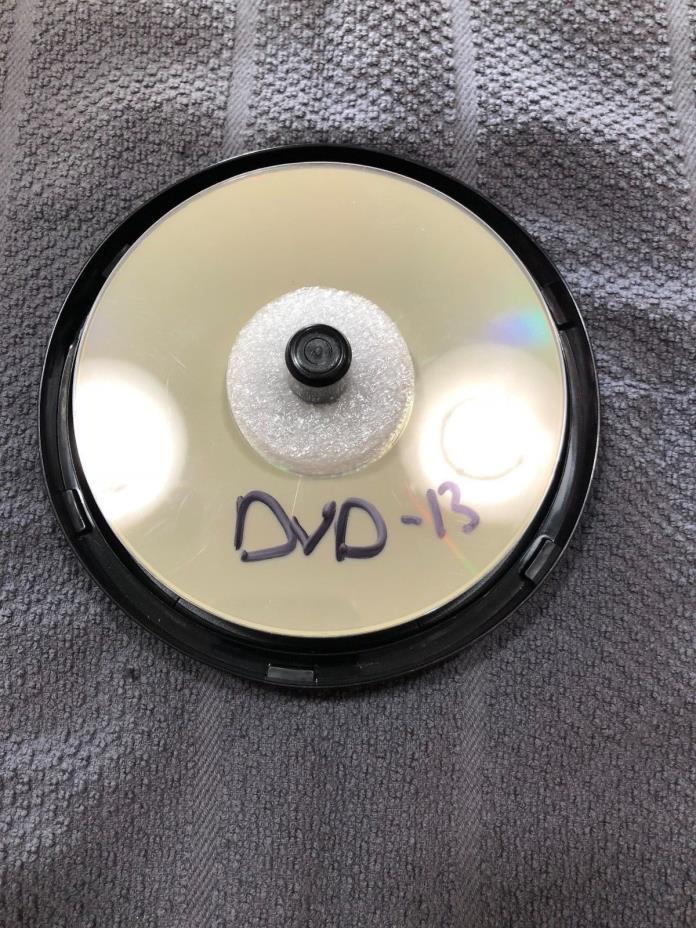 HP Lightscribe DVD-R Blank DVD Media New 4.7GB 16X Gold Color 13 discs left