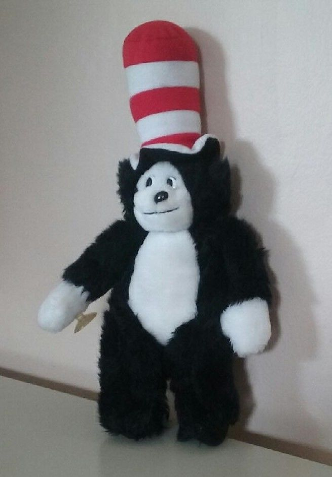 Dr. Seuss The Cat in the Hat Plush Stuffed Animal 14