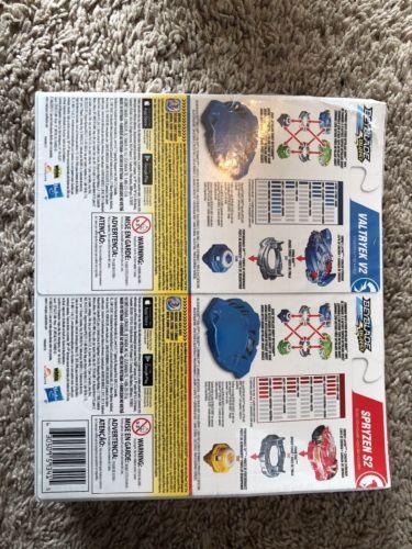 Burst Value Starter Beyblade 2 Pack Valtryek V2 and Spryzen S2 Toys Boys Toddler