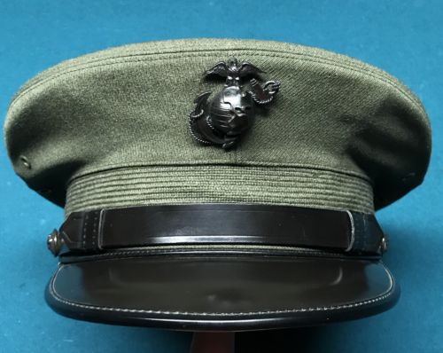 USMC WW2 Korean Era Officers Service Cover USMC Marine Corps EGA