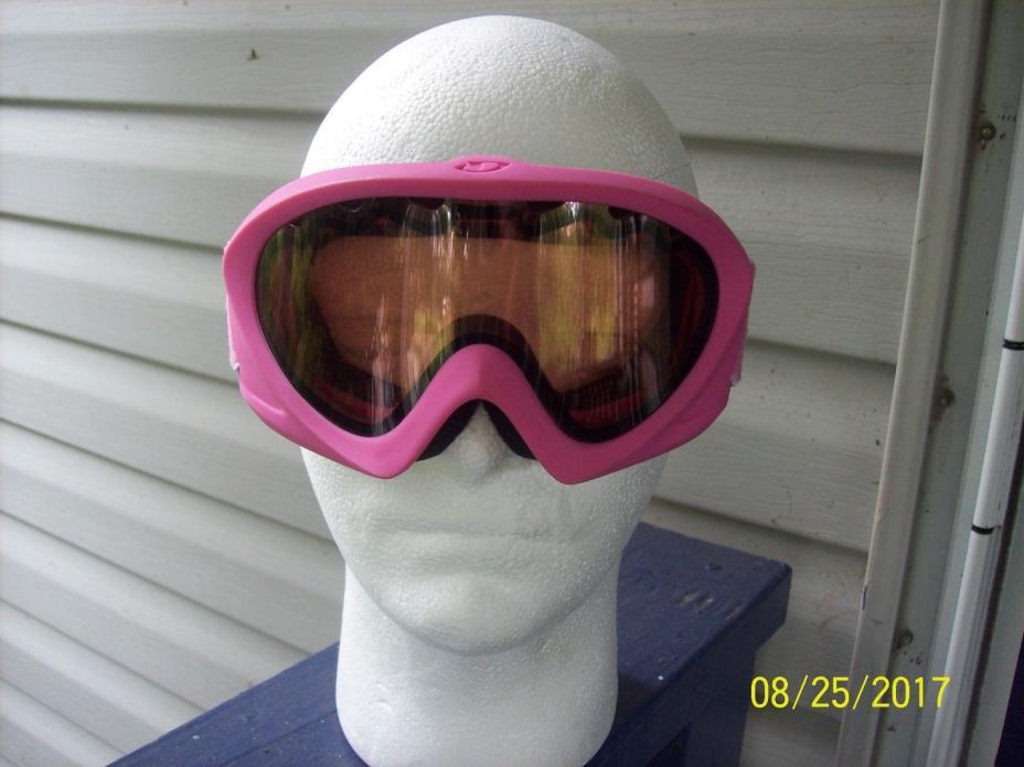 giro girls pink goggles