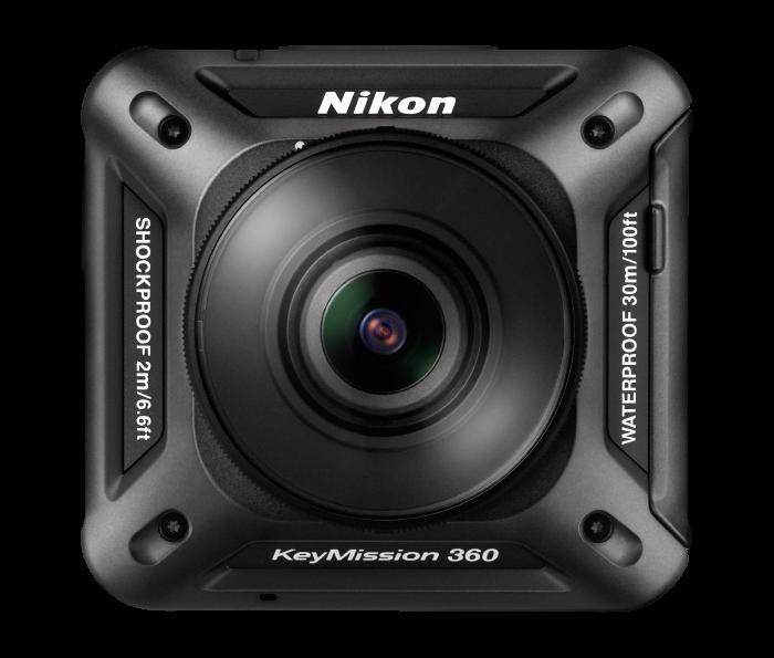 Nikon KeyMission 360 WI-FI Shock & Waterproof 4K Action Camera Camcorder NEW