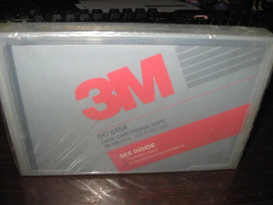 3M DC615A  Data Tape Cartridge lot of 2 NEW