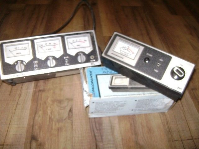 VTG Micronta LOT 3-METER Power Modulation SWR Test CAT No 21-522 & No 21-525A