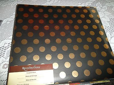 Recollections Scrapbook 12 x 12 top load /HOLDS 10 TOP LOADING LAYOUTS