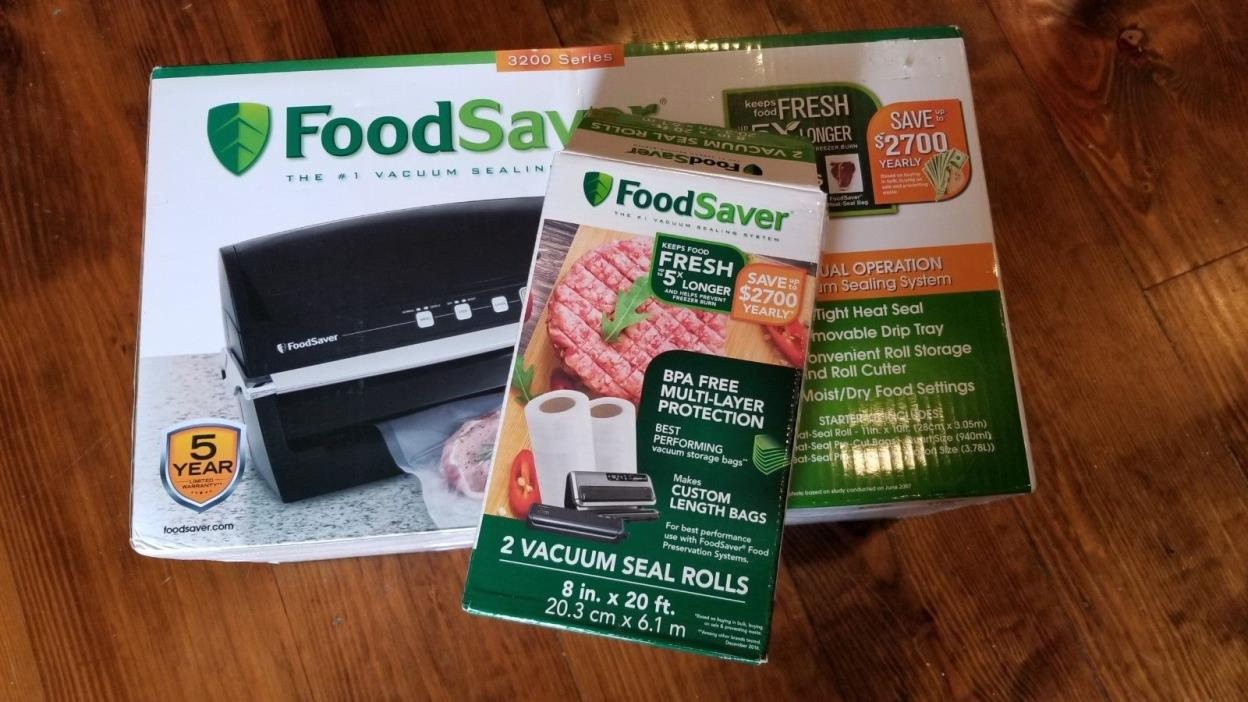 FoodSaver Vacuum Sealer 3200 series
