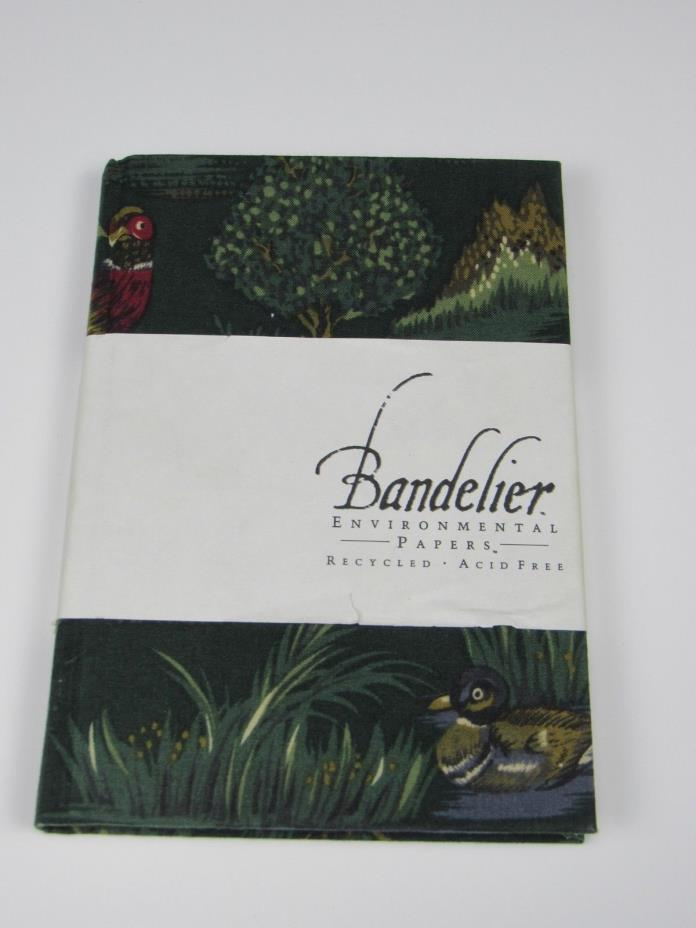 Sketch Book Bandelier Environmental Papers Recycled Material Clothe Hardcover