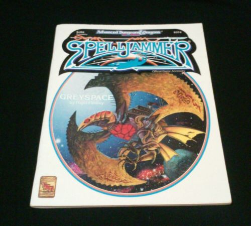 NEW Advanced Dungeons & Dragons Spelljammers Greyspace TSR RPG bagged Very Fine