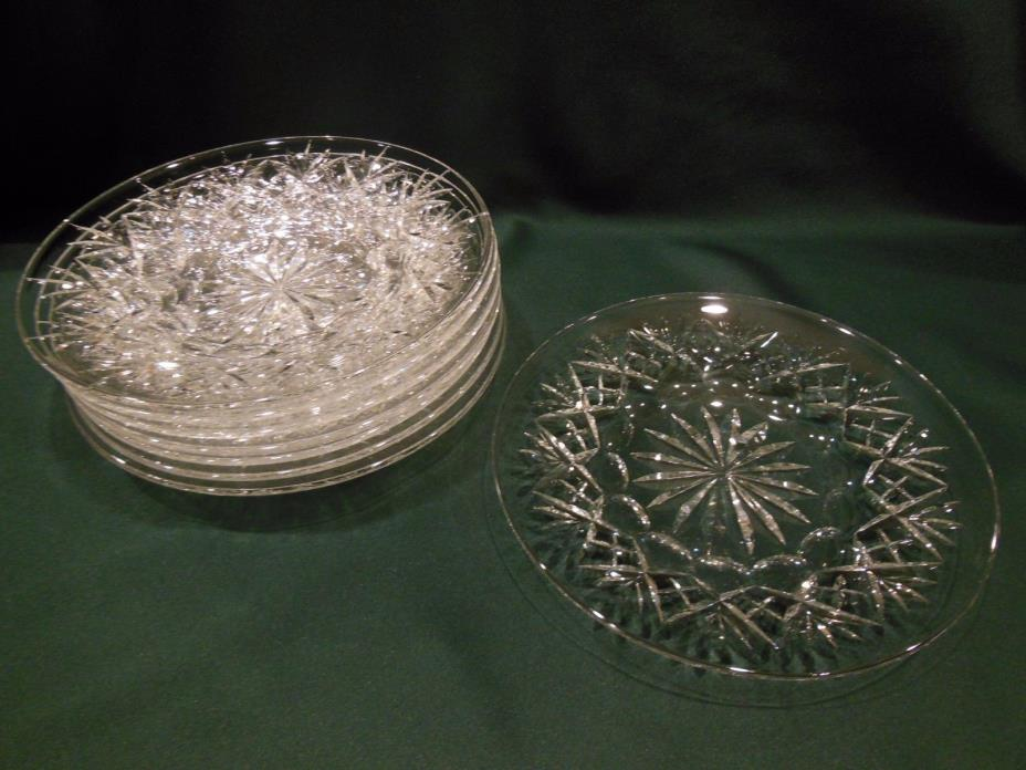 Vintage Webb Corbett Crystal 8-1/4