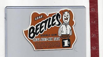 Vintage vending machine display 1c Leaf BEETLES Bubble Gum card FREE SHIPPING
