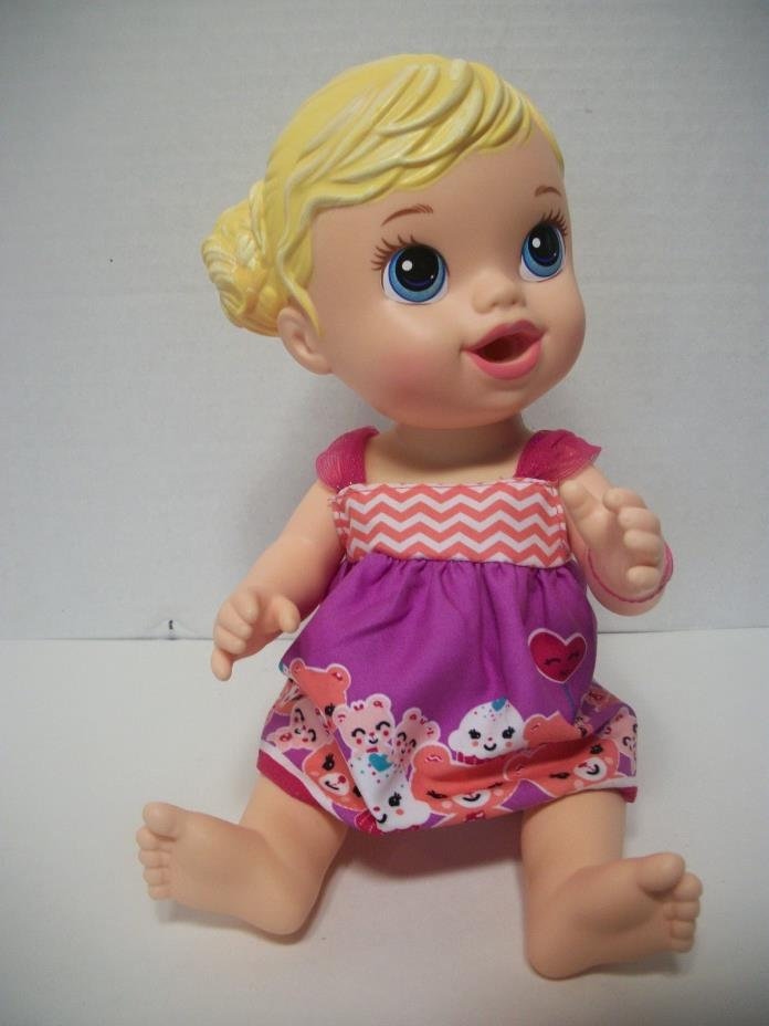 Baby Alive 2014 Teacup Surprises Molded Blonde Hair Wets 12