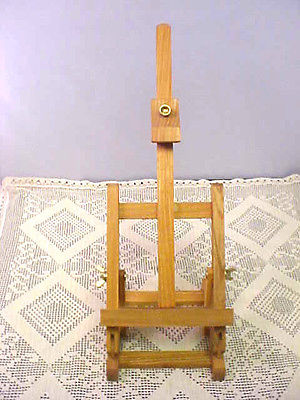 Artists Easel Solid Wood Adjustable Height and Angle Will Fold Up Easy Travel