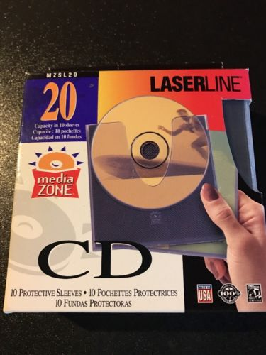 Laserline 10 Protective Sleeves 20 Capacity MZSL20
