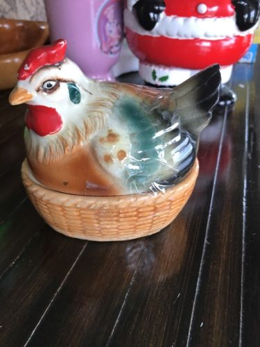 Enchanto Co.  Nesting Hen Double Egg Holder