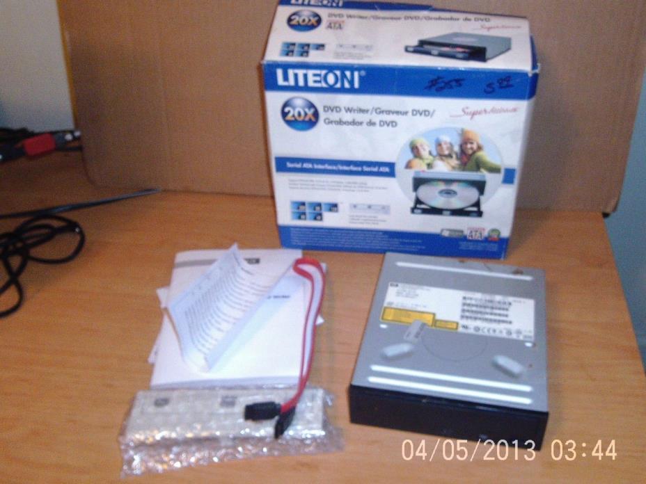LITEON DVD Writer 20X Serial ATA Interface