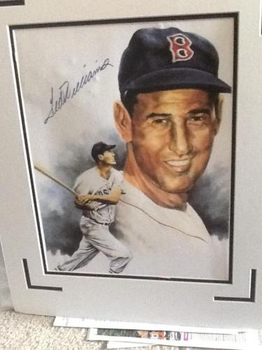 TED WILLIAMS AUTOGRAPHED BASEBALL, UNAUTHENTICATED