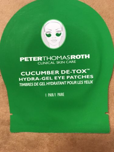 Peter Thomas Roth Cucumber De-tox Hydragel Eye Patches 1pair