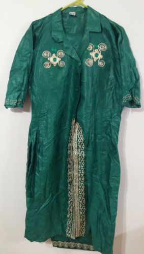 PANTS JACKET 2PC NEW WOMEN 2XL GARMENT NIGERIA LONG TOP BROCADE EMBROIDERY TOGO