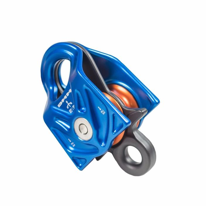 DMM Gyro Twin Pulley, 56Kn MBS, 10kN WLL, Precision Engineered For Arborists
