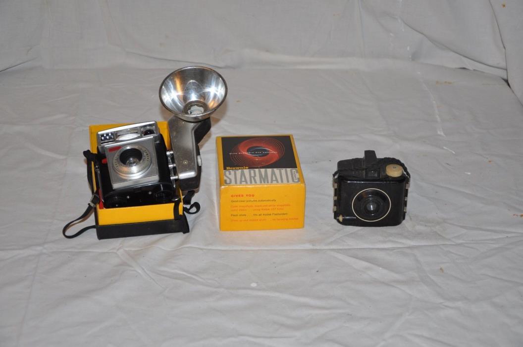 Vintage Brownie Cameras