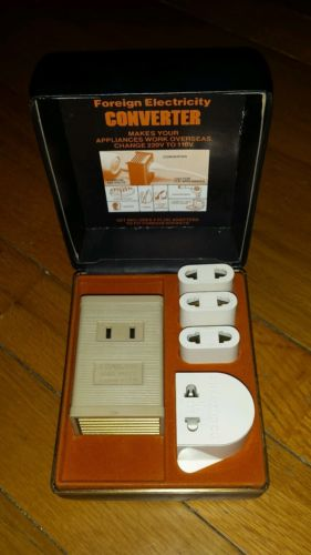 FRANZUS FOREIGN ELECTRICITY CONVERTER FOR OVERSEAS PLUGS