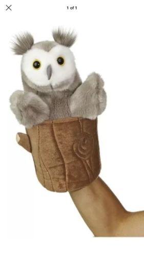 Aurora World Pop Up Owl Plush Puppet