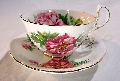 Royal Standard England Amethyst Tea Cup and Saucer Fine Bone China Teacup