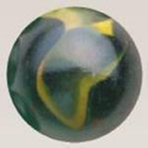Mega Marble - IGUANA ToeBreaker - Jumbo 2 Inch Glass Marble