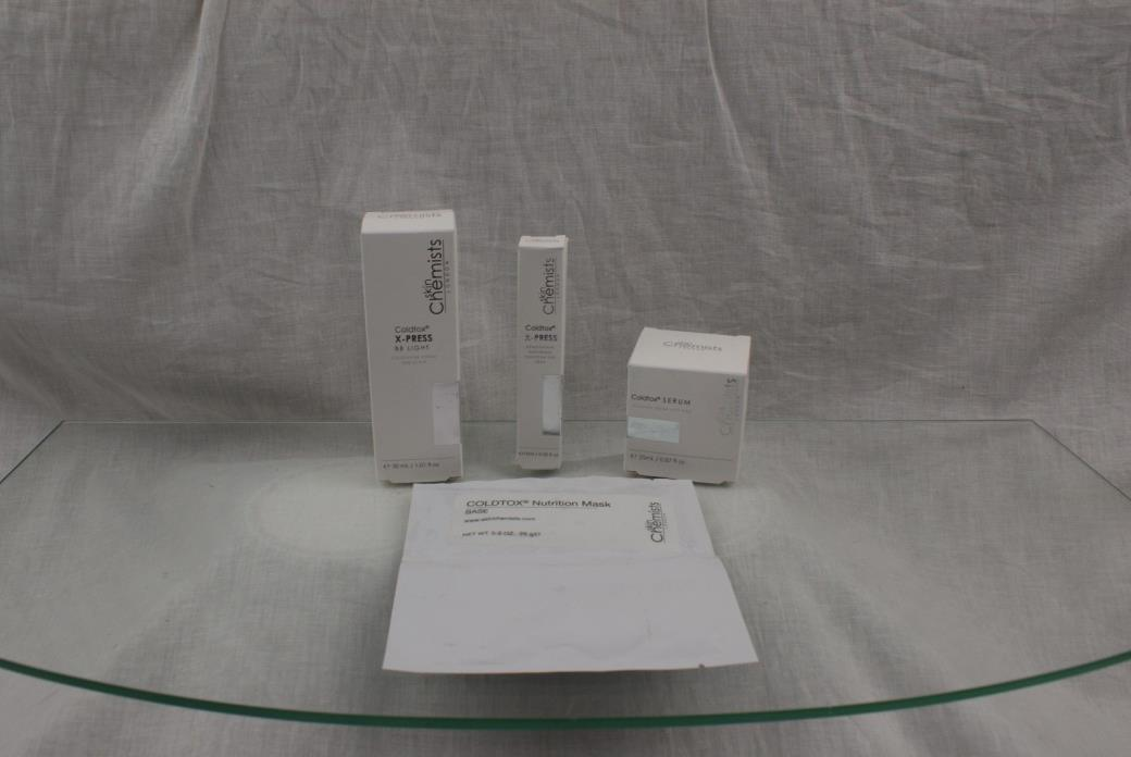 skinChemists Coldtox Light BB Cream, Coldtox Serum, Coldtox Express Eye Lift ...
