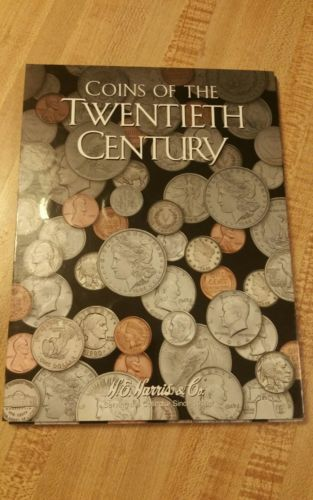 U.S. Coins Twentieth Century Type Set of 30 Coins and Book , With Silver