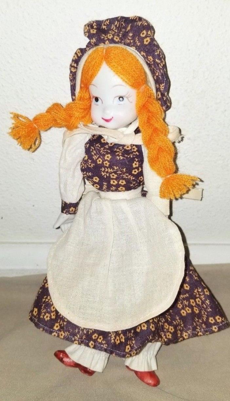 Vintage Antique Bisque Porcelain Victorian Doll 9