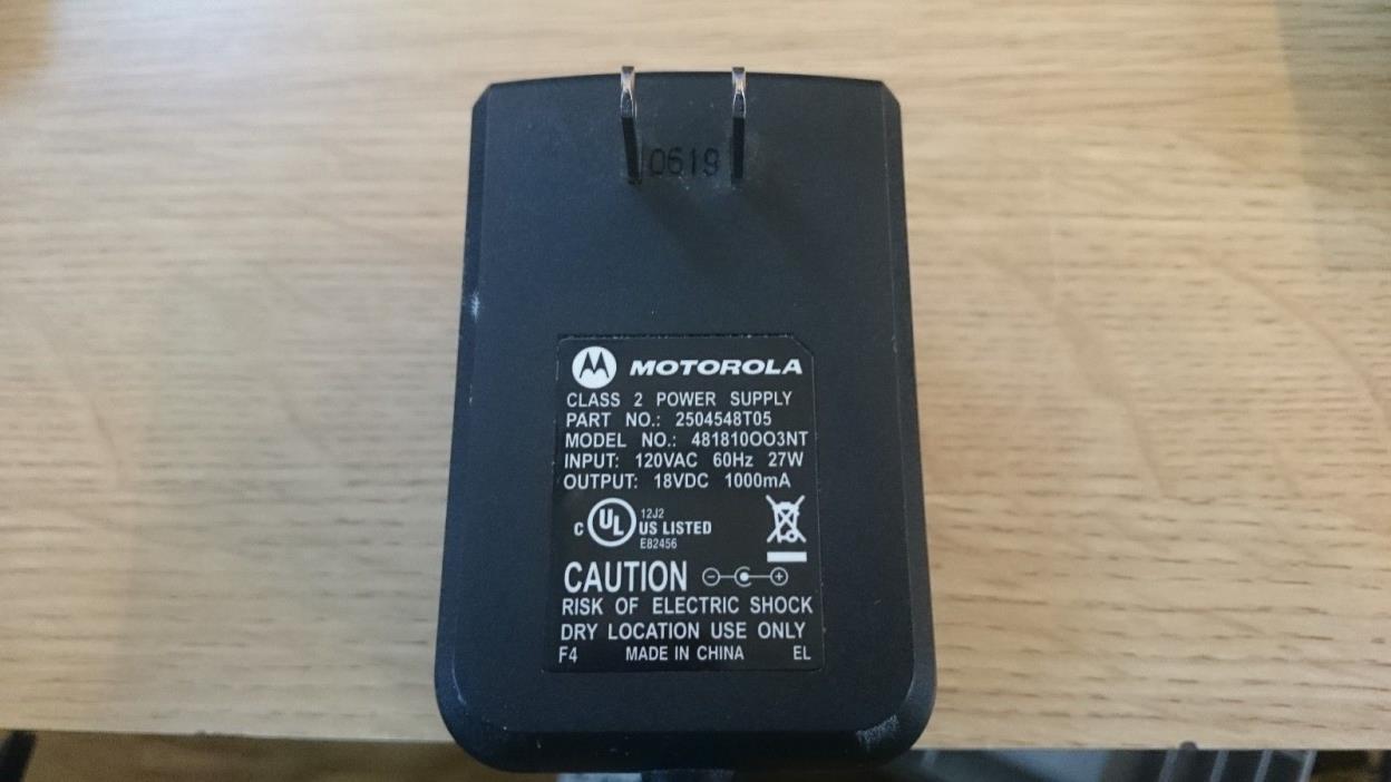 Motorola Power Supply 2504548T05 #7052