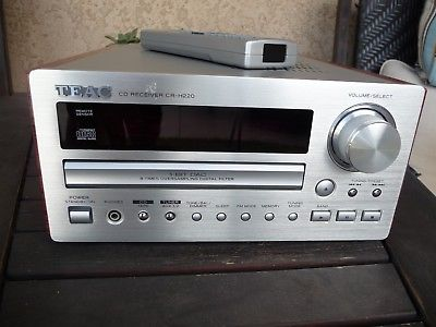 Teac CR-H220 Mini AM FM stereo RECEIVER With CD PLAYER With Remote Control NICE