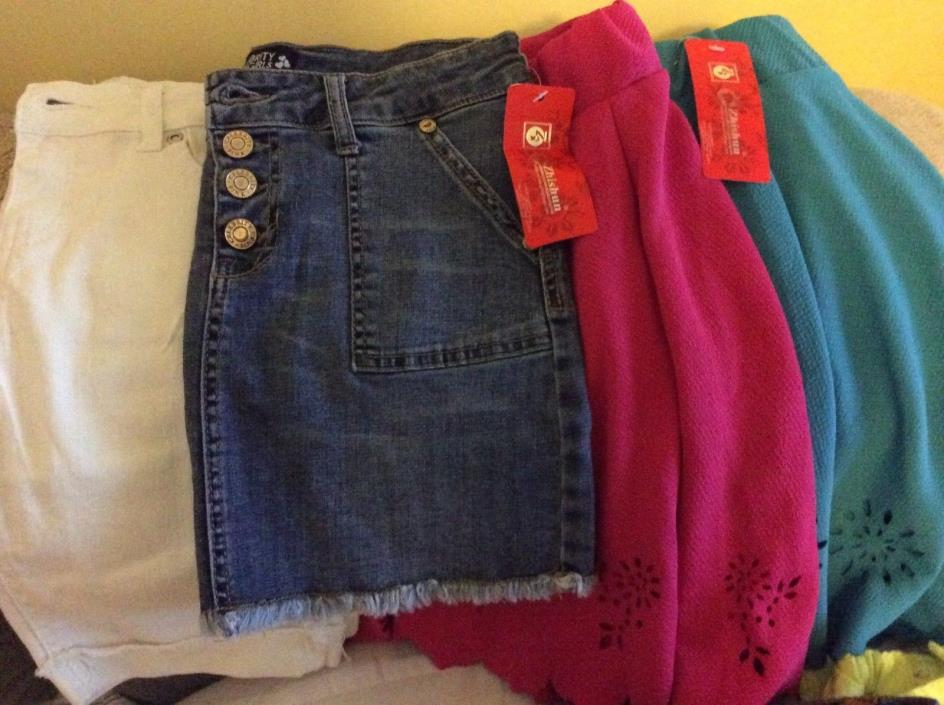 Girls clothing LOT Bottoms,Skirts,Shorts,Pants, Jeggings, Leggings NEW Size10-12