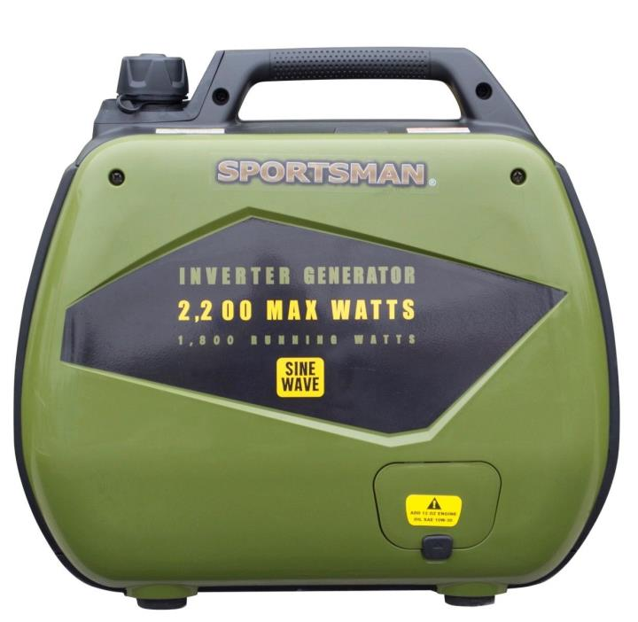 Sportsman 2,200-Watt Dual Fuel Powered Inverter Generator Sensitive Electronics